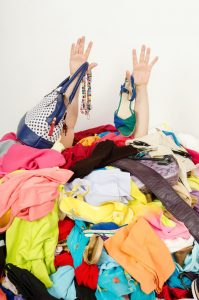Messy Pile Of Clothes