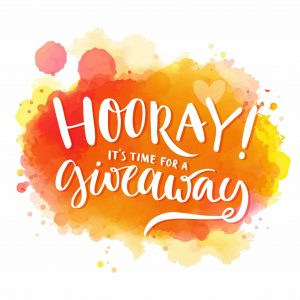 Hooray it's time for a giveaway