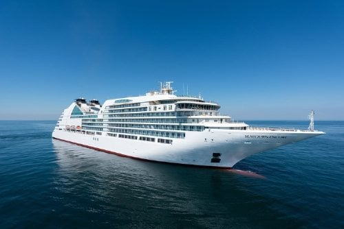 Seabourn Encore at Sea
