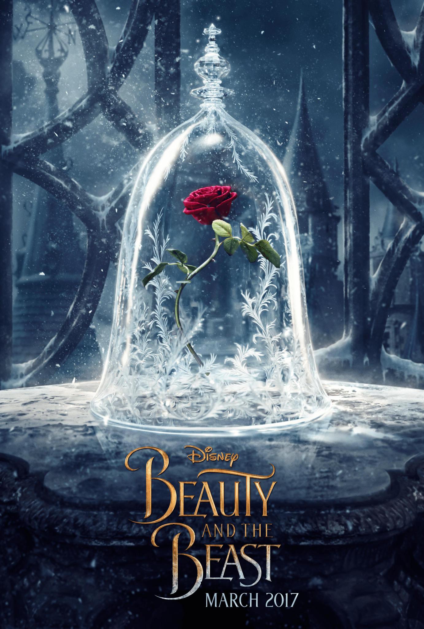 First Look: Beauty and the Beast Poster