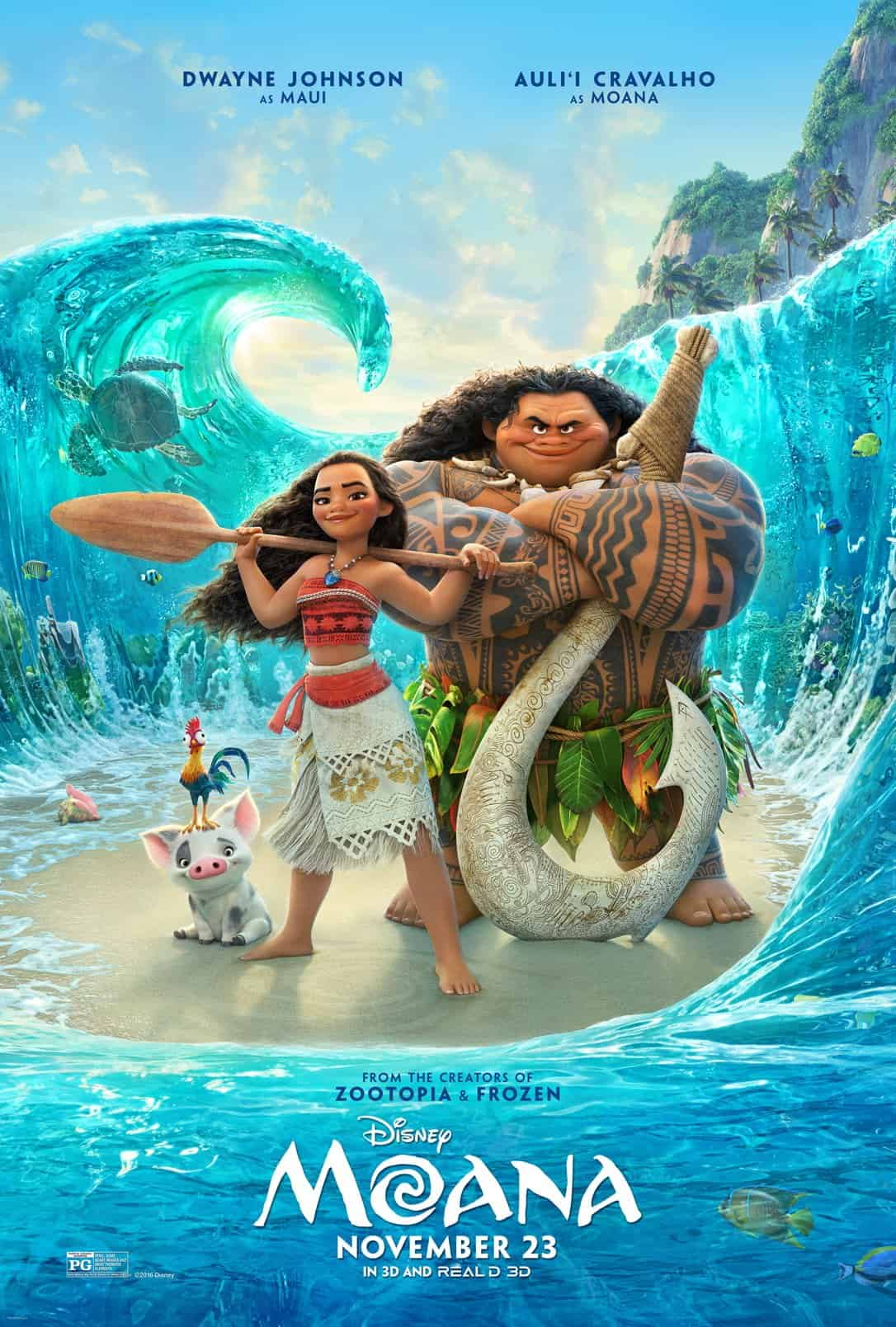 First Look at Disney's Moana Poster