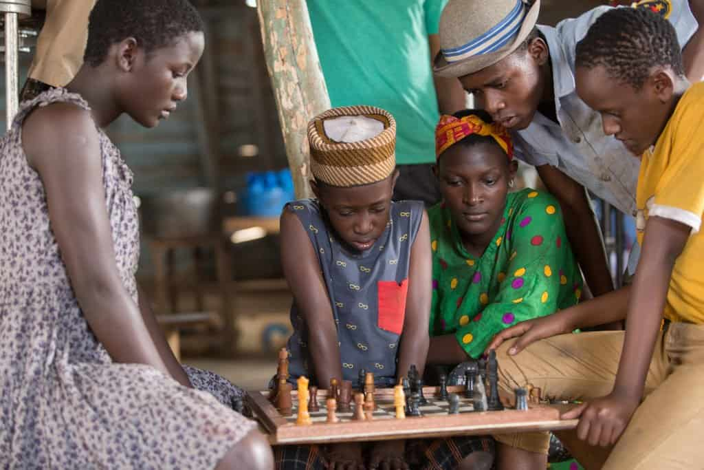 A First Look at Disney's upcoming film Queen of Katwe