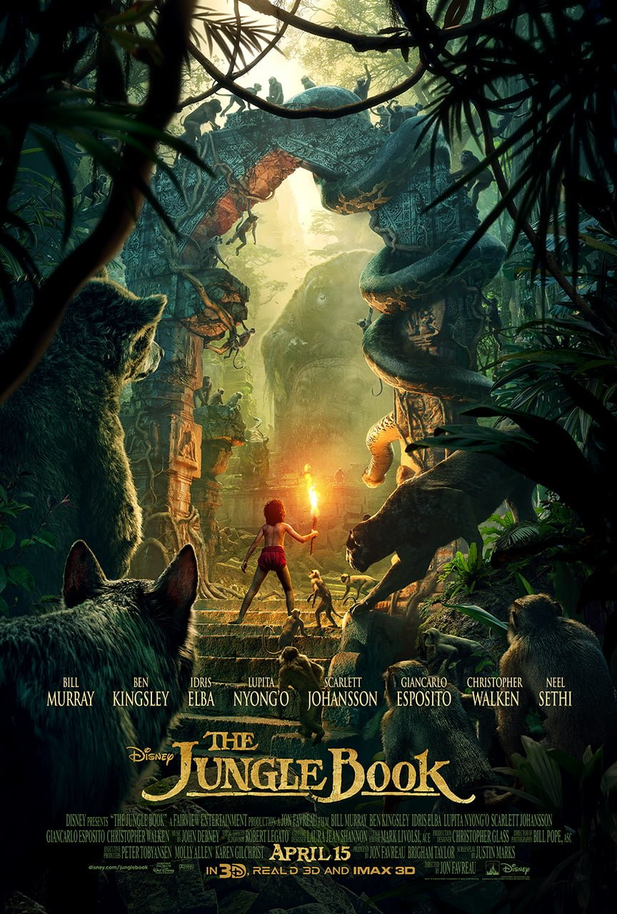 Disney's The Jungle Book Trailer and Poster