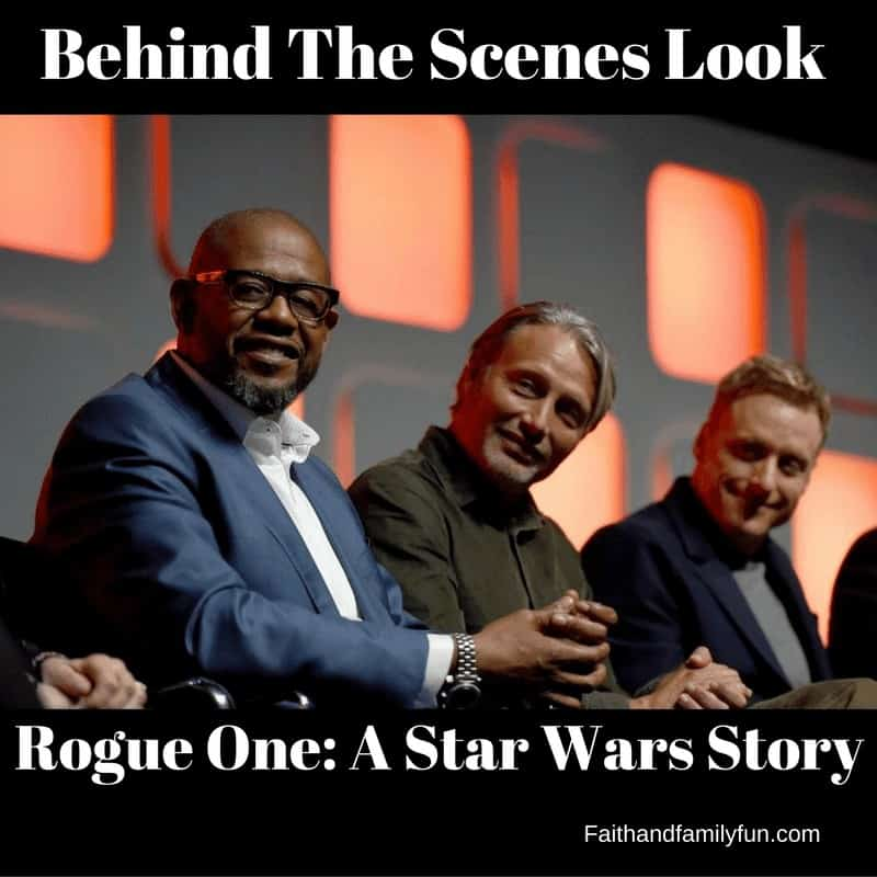 Behind The Scenes With Cast of Rogue One: A Star Wars Story