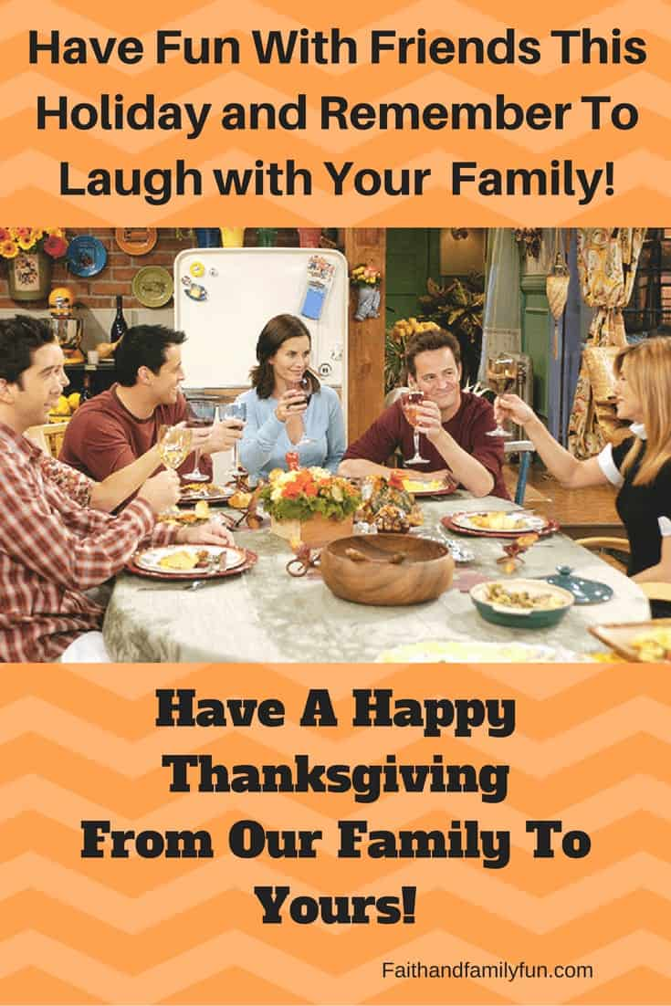 Your Favorite Friends Thanksgiving Clips