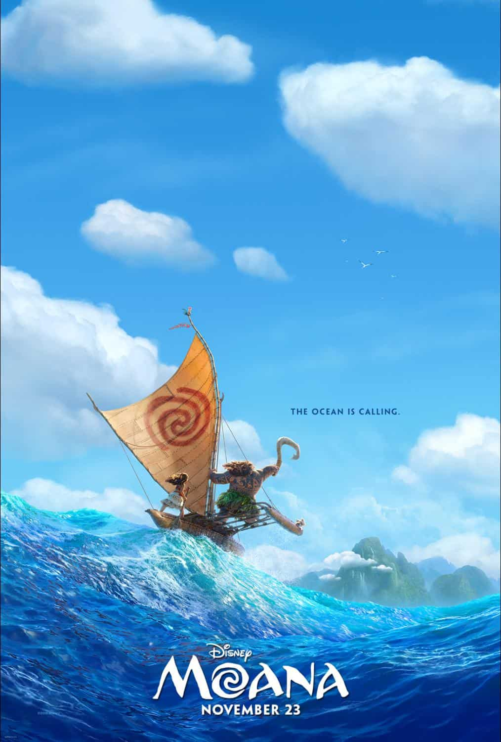 Moana Helps Break Box Office Records