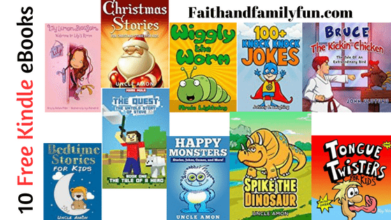 10 Free Kids Kindle eBooks – December 5