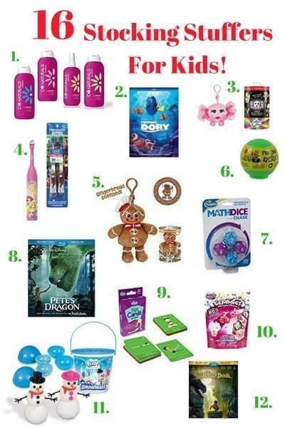 16 Christmas Stocking Stuffers For Kids