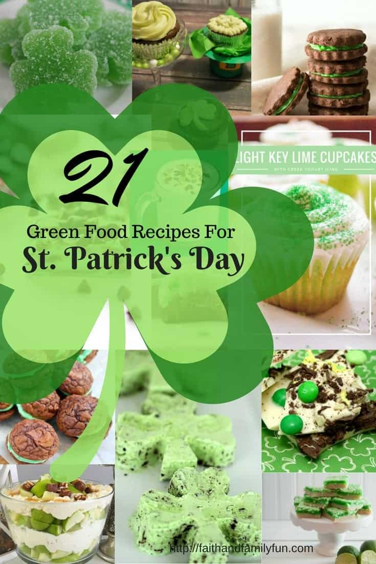 21 Green Food Recipes For St. Patricks Day