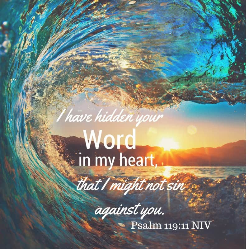 Hide The Word Of God In Your Heart – Kids Devotions