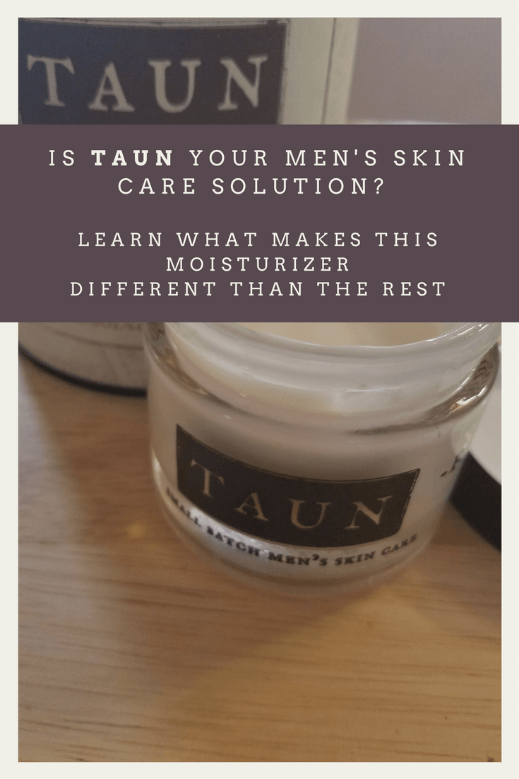 Taun Small Batch Men's Facial Repair Faithandfamilyfun.com