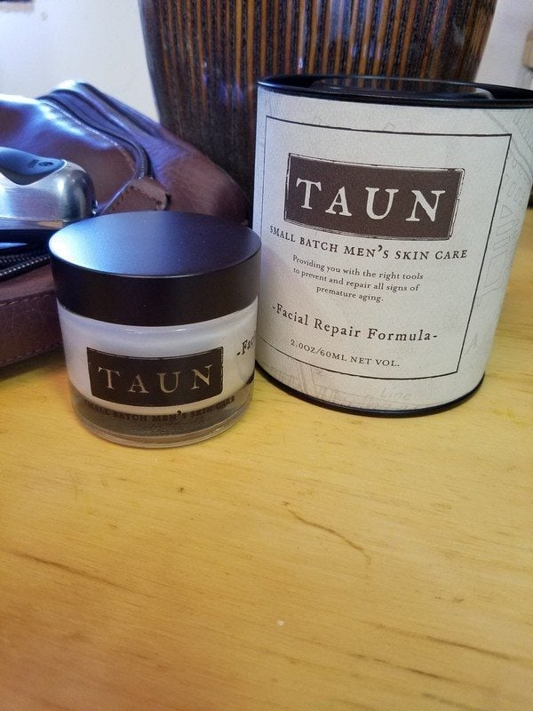 Taun's face cream for men faithandfamilyfun.com