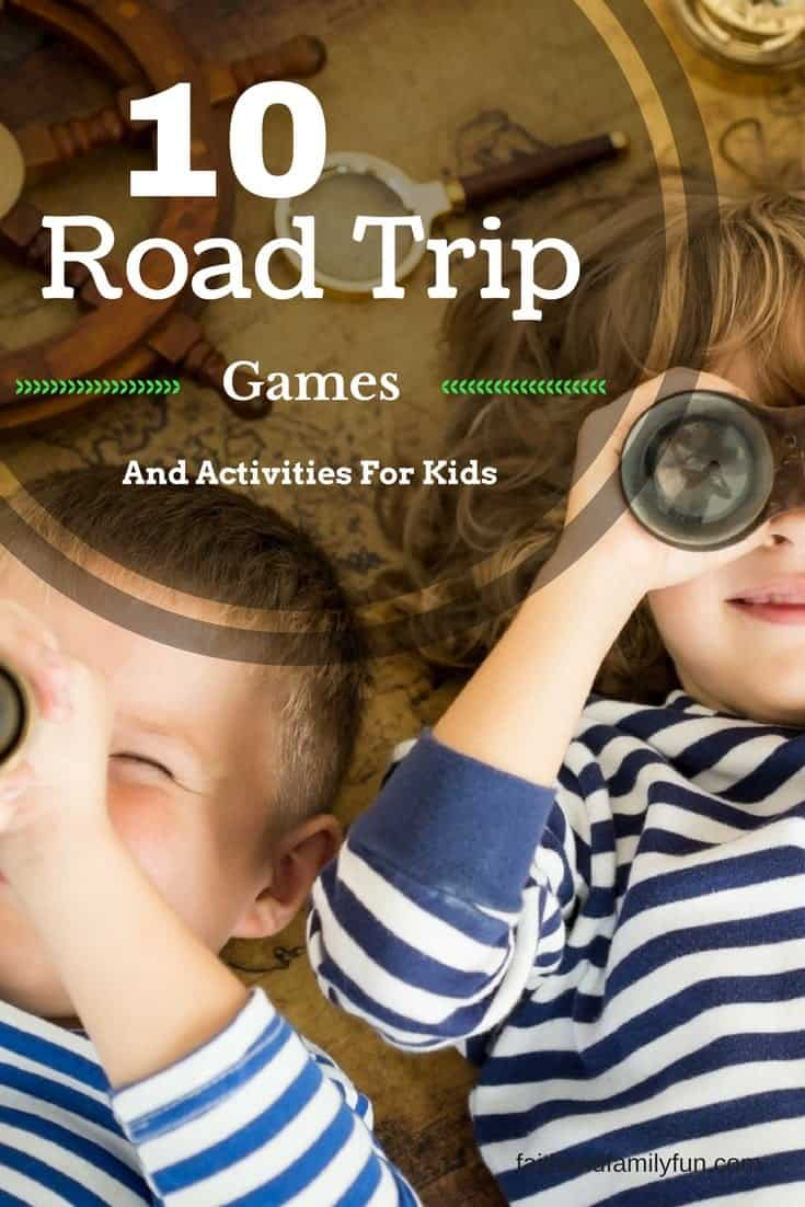 10 Road Trip Games And Activities For Kids