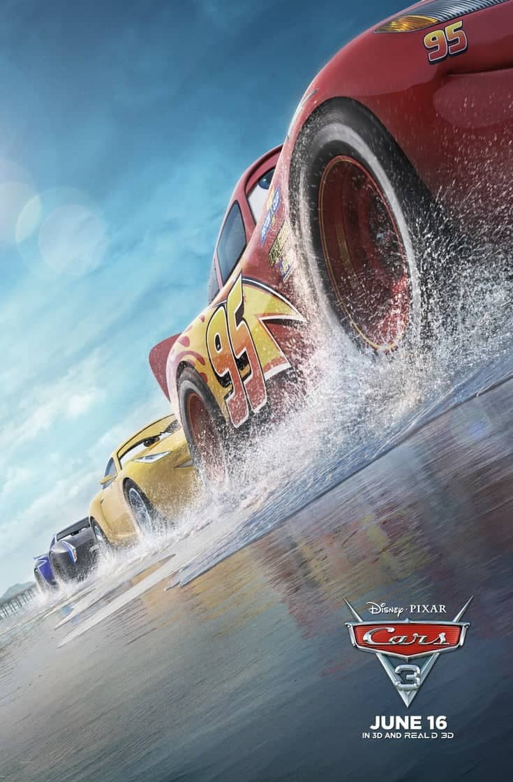 Cars 3 New Trailer and Free Printables