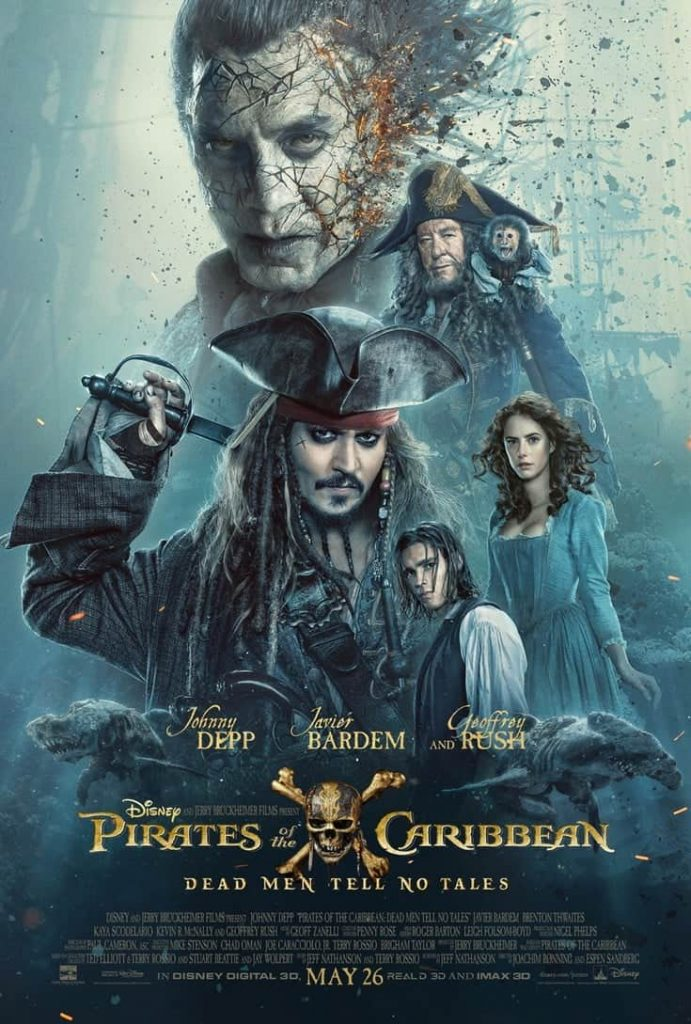 The Pirates Of The Caribbean Dead Men Tell No Tales faithandfamilyfun.com