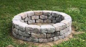 Building your own Stone fire pit