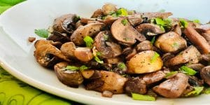 Buttery Mushrooms And Onions