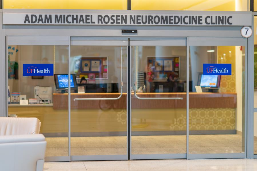 Adam Michael Rosen Foundation Wing at UF focusing on Neurological Tumor Research